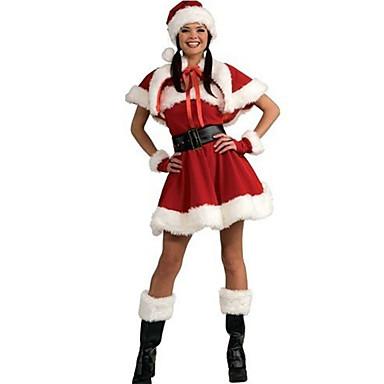 Nisse drakter Cosplay Kostumer Kvinnelig Jul Festival/høytid Halloween-kostymer Lapper