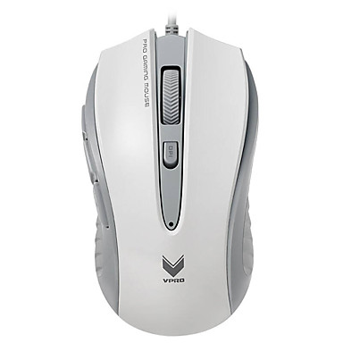 RAPOO v300cのゲーミングマウス4モード調整可能な4000 dpiのプログラマブル光コンピュータPCのラップトップを呼吸8ボタン
