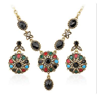 Mujer Circonita / Rubí sintético Conjunto de joyas - Lujo Incluir Arco iris Para Casual