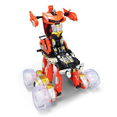 Robot 2.4G Plast Toy RC Kjøretøy