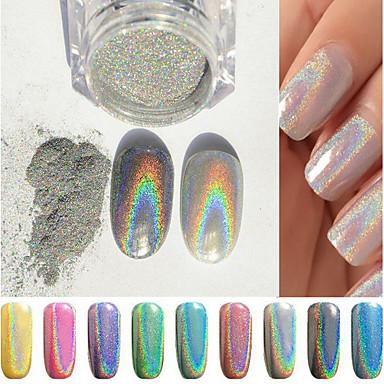 1pc Brillante Joyas de Uñas Encantador arte de uñas Manicura pedicura Glitters / Moderno / De moda / Reluciente