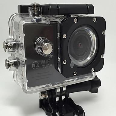 Toimintakamera / Urheilukamera 12MP 8MP 5MP 640 x 480 1024 x 768 Multi-function Wifi Langaton 1,5 2 128 GBEnglanti Saksa Espanja