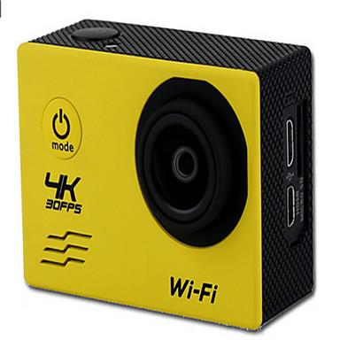 v60 Action Camera / Sports Camera 20MP 4608 x 3456 WiFi 調整可 ワイヤレス 広角 30fps 非対応 ±2EV 非対応 CMOS 32 GB H.264 シングルショット バーストモード タイムラプス ユニバーサル