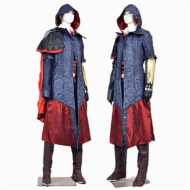 Cosplay Kostumer Halloween Utstyr Party-kostyme Maskerade Superhelter Batter Edderkopper Soldat/Kriger Prinsesse Dronning Cinderella