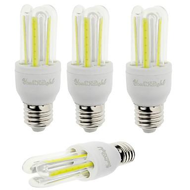 YouOKLight 600 lm E26/E27 LED-maissilamput T 6 ledit COB Koristeltu Kylmä valkoinen AC 85-265V