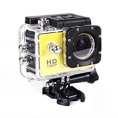 SJ4000 Action Camera / Sports Camera 20MP 4608 x 3456 調整可 広角 ワイヤレス 30fps 非対応 ±2EV 非対応 CMOS 32 GB H.264 タイムラプス シングルショット バーストモード ユニバーサル