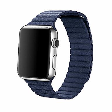 Pulseiras de Relógio para Apple Watch Series 3 / 2 / 1 Apple Pulseira de Couro Couro Legitimo Tira de Pulso