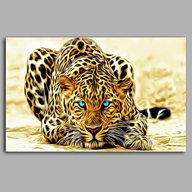 Eläin Moderni,1 paneeli Kanvas Horizontal Painettu Wall Decor For Kodinsisustus