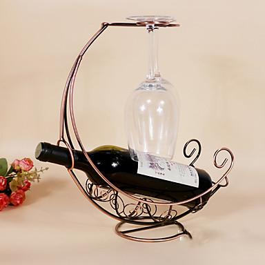 ワインラック 鋳鉄,31*12.5*35CM ワイン アクセサリー