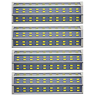 hesapli Ampul-4adet 25 W Tüp Işıkları 1800放 R7S LED Boncuklar SMD 5730 Çift Kafa Sıcak Beyaz Serin Beyaz 85-265 V / 4 parça / RoHs