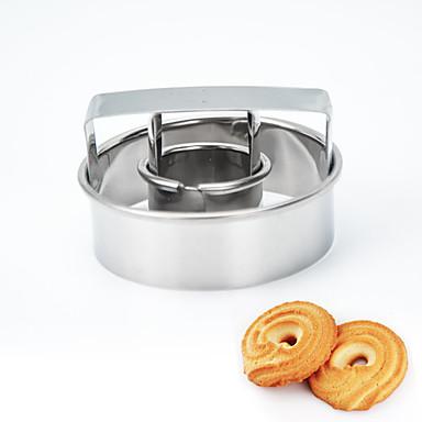 Bakeware verktøy Metall Jul / Bursdag / Nyttår Til Småkake 1pc