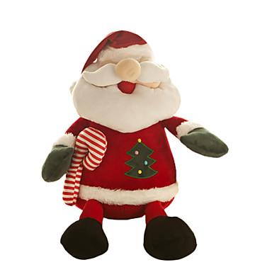 サンタスーツ クリスマスデコレーション クリスマスギフト クリスマスパーティー用品 クリスマス向けおもちゃ クリスマスツリー飾り クラシック・タイムレス カトゥーン かわいい プラッシュ ギフト