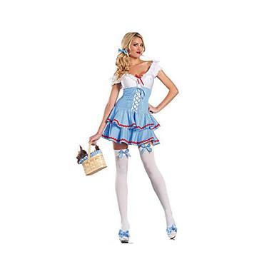 Kvinnelig Halloween Jul Karneval Festival/høytid Halloween-kostymer Ensfarget