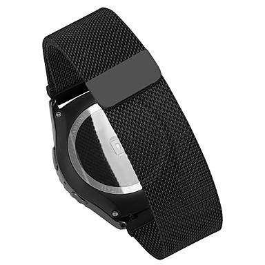 Klokkerem til Huawei Watch / Withings Activité / Withings Activité Steel Huawei Milanesisk rem Metall / Rustfritt stål Håndleddsrem