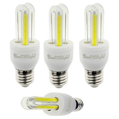 E26/E27 LED-maissilamput T 4 ledit COB Koristeltu Kylmä valkoinen 210lm 6000K AC 85-265V