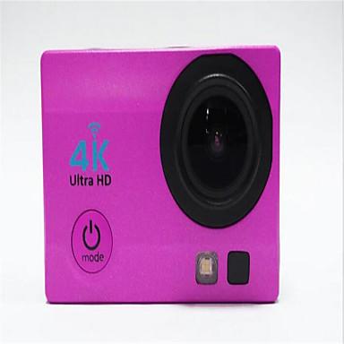 4K Toimintakamera / Urheilukamera 16MP 4000 x 3000 Wifi Säädettävä Vedenkestävä Langaton 30fps 4X ± 2 EV 2 CMOS 32 GB H.264 Englanti