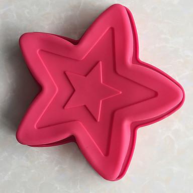 ベークツール シリコーン 焦げ付き防止 / 3D / DIY パン / ケーキ / クッキー ベーキングモールド