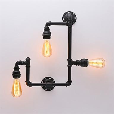 Rústico / Campestre / Vintage / Retro Lámparas de pared Metal Luz de pared 110-120V / 220-240V Max 60W / E26 / E27