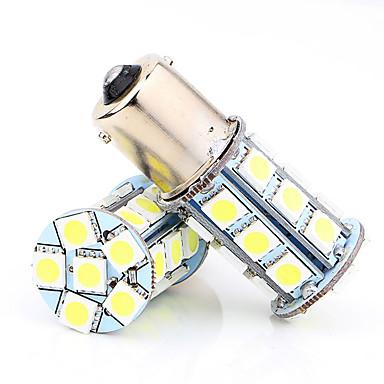 2PCS مصباح سيارة 2W SMD LED 5050 الذيل ضوء / عكس مصباح / ضوء الفرامل