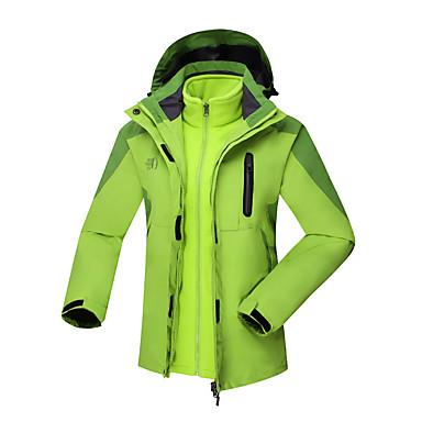 Naisten 3-in-1 -takit Pidä lämpimänä Mukava Protective Verryttelypuku Tuulitakit Softshell-takit Topit varten Kuntoilu Vapaa-ajan urheilu