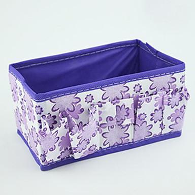 Kosmetikk Veske Cosmetic Box Sminkeoppbevaring Ensfarget Nylon