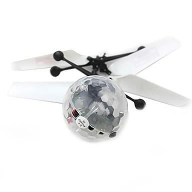 Artilugio Volador Pelotas Juguetes iluminados Aeronave Diamante Iluminación Novedades El plastico Metal Regalo 1pcs