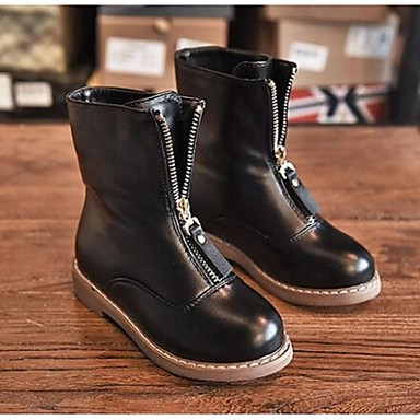 BootsitTyttöjen-Mikrokuitu-Musta-Rento-Comfort
