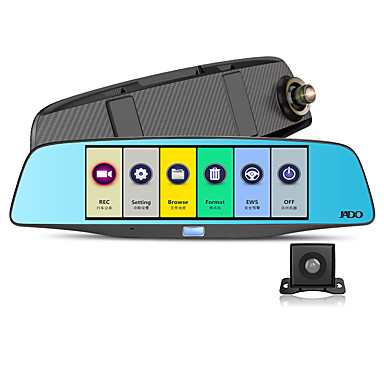 D680S 1080p 140 astetta Auto DVR 6 tuumaa Dash Cam G-Sensor Pysäköintitila Liikkeentunnistus Jatkuva tallennus LDWS FCWS Emergency Lock