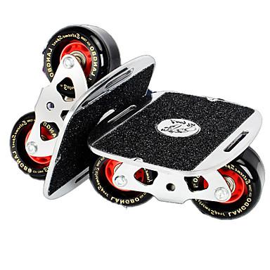 スタンダードスケートボード 黒 + 銀