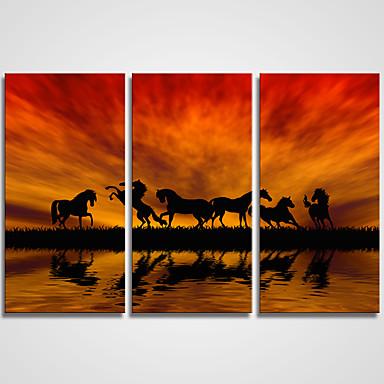 風景 静物画 カジュアル 近代の リアリズム,3枚 キャンバス 横式 プリント 壁の装飾 For ホームデコレーション