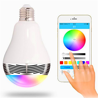 RGB Wireless Others Wireless Bluetooth 4, colorful dimming LED lights Blanco