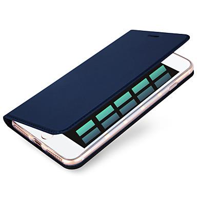 Käyttötarkoitus iPhone X iPhone 8 iPhone 7 iPhone 7 Plus iPhone 6 kotelot kuoret Korttikotelo Kokonaan peittävä Etui Yhtenäinen väri Kova