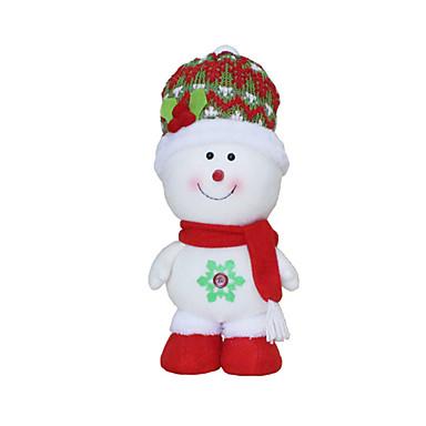 Spielzeug für Weihnachten Geschenktaschen Urlaubszubehör 3 Weihnachten Gewebe Rot Weiß Gelb