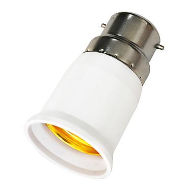 Plastic E27 B22 la E27 Accesorii pentru iluminat Adapter