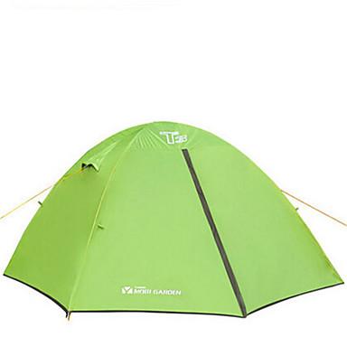 MOBI GARDEN 3-4 Personen Zelt Doppel Automatisches Zelt Einzimmer Camping Zelt Oxfordwarm halten Wasserdicht Tragbar Windundurchlässig