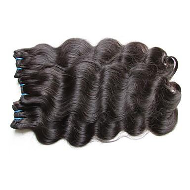 ブラジリアンヘア ウェーブ 人間の髪織り 1個 0.3