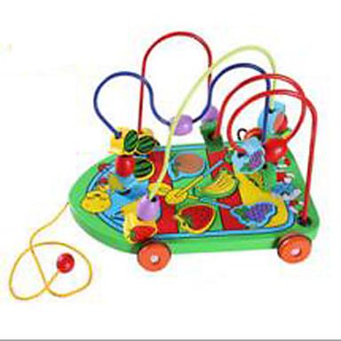 知育玩具 ストレス解消グッズ おもちゃ アイデアジュェリー サーキュラー 車載 ウッド 1 小品 女の子 男の子 こどもの日 ギフト