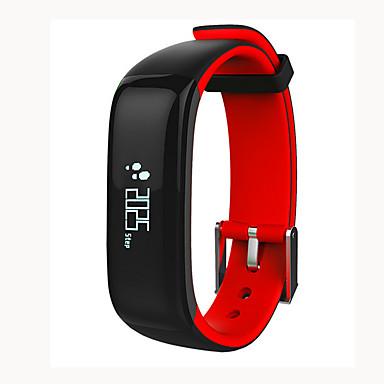 Pulseira inteligente P1 para iOS / Android Monitor de Batimento Cardíaco / Medição de Pressão Sanguínea / Calorias Queimadas / Suspensão Longa / Tela de toque Monitor de Sono / Lembrete sedentária