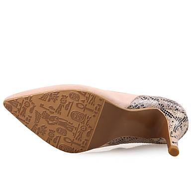 pointu Combinaison Confort Bout à Chaussures Femme Aiguille Hiver Orange 06224212 Laine Fuchsia Chaussures synthétique Talons Automne Talon qxAqOWw7X