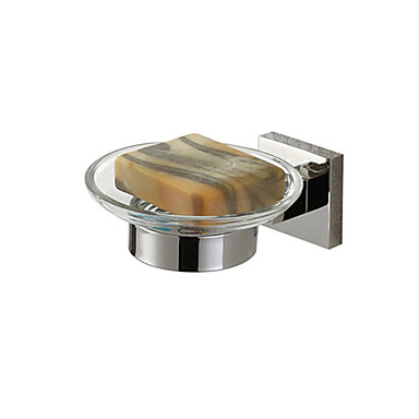 Soap Dish Stainless Steel Wall Mounted 80 x 80 x 50mm (3.15 x 3.15 x 1.97