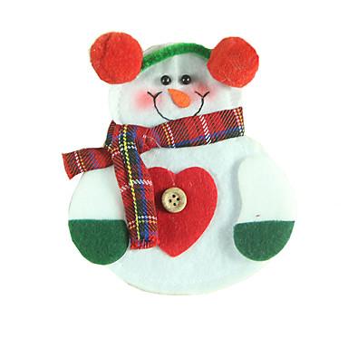 クリスマスデコレーション クリスマスパーティー用品 ギフトバッグ おもちゃ 雪だるま 2 小品 クリスマス ギフト