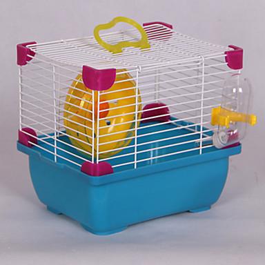 ネズミ かご ブルー