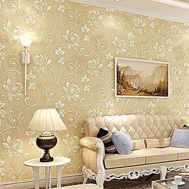 Floral Tapetti Nykyaikainen Seinäpinnat,Non-woven Paper Kyllä