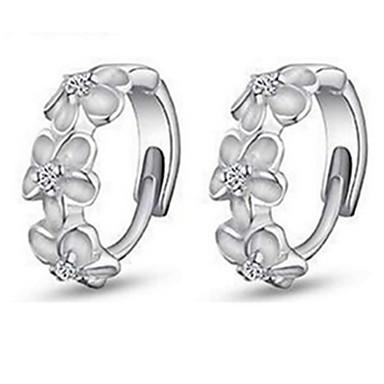 女性 フープピアス 高級ジュエリー ファッション 純銀製 イミテーションダイヤモンド ジュエリー 用途 パーティー