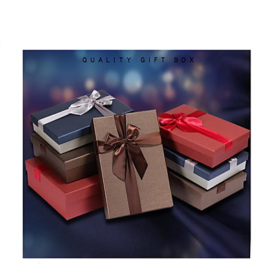 european business rektangel gaveæske kjolesæt tørklæde kassen