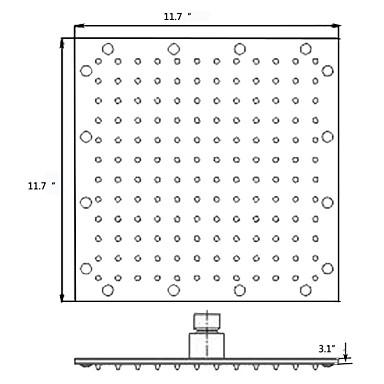 Suvremena  with  Brushed Single Handle One Hole  ,  svojstvo  for Waterfall LED