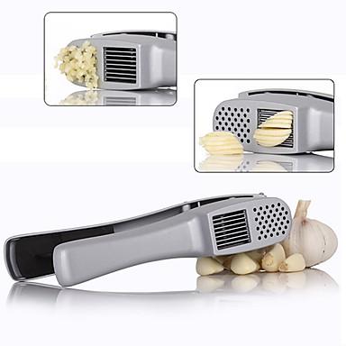 1 Alho Cortador e Fatiador Moedor For Fruta Vegetais Metal Novidades Ecológico Alta qualidade Multifunções Gadget de Cozinha Criativa