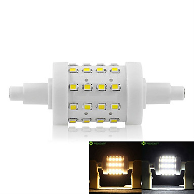 SENCART 5W 450-500lm R7S LED Corn Lights Recessed Retrofit 36 LED Beads SMD 2835 Dimmable Warm White / Cold White 85-265V / 1 pc