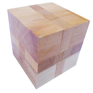 Holzpuzzle Rätselspiele Kong Ming Geduldspiel Spielzeuge Quadratisch Intelligenztest Neuartige Holz Mädchen Jungen 1 Stücke