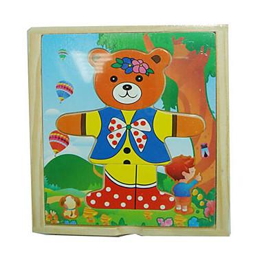 ブロックおもちゃ 知育玩具 ストレス解消グッズ おもちゃ 方形 アイデアジュェリー ウッド 女の子 男の子 1 小品